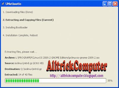 Cara Install linux melalui USB Flashdisk
