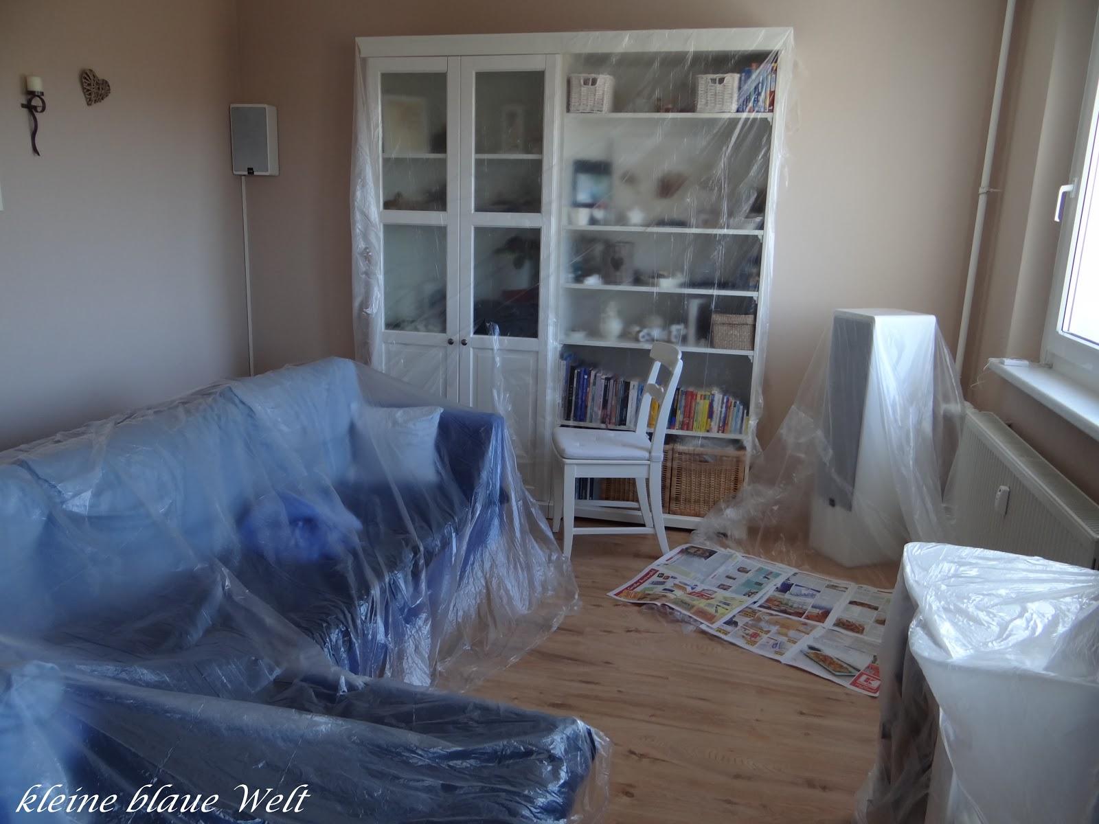Kleine blaue welt malerchaos und nette post for Dinge im wohnzimmer 94