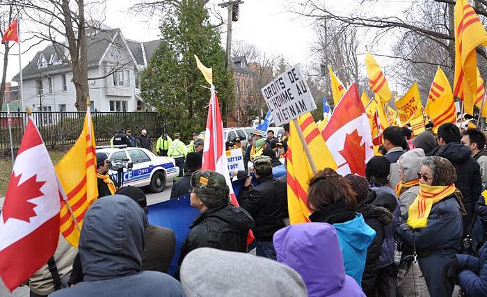 Image result for biểu tình nhân quyền ottawa