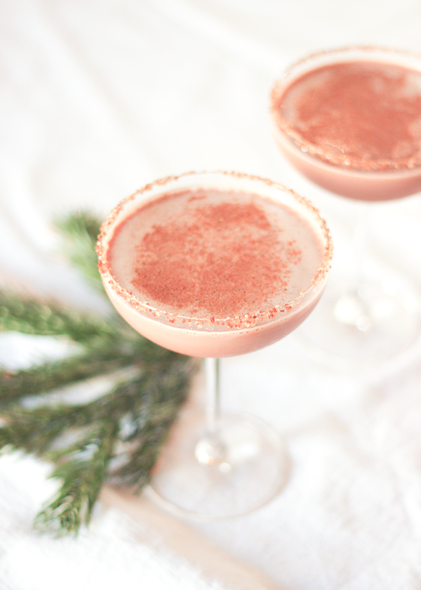 "Fabulous Fete: icy peppermint ""hot"" chocolate // cocktails"