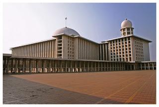 Masjid Istiqlal Jakarta Masjid Terbesar di Indonesia