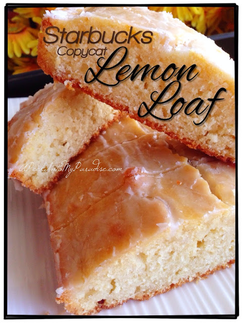 sweet bread; lemon bread