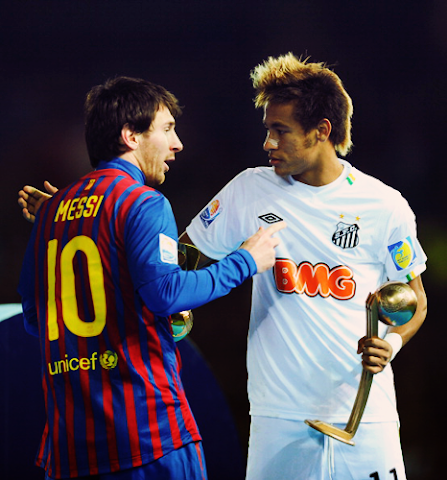 neymar giocare leo messi sogno