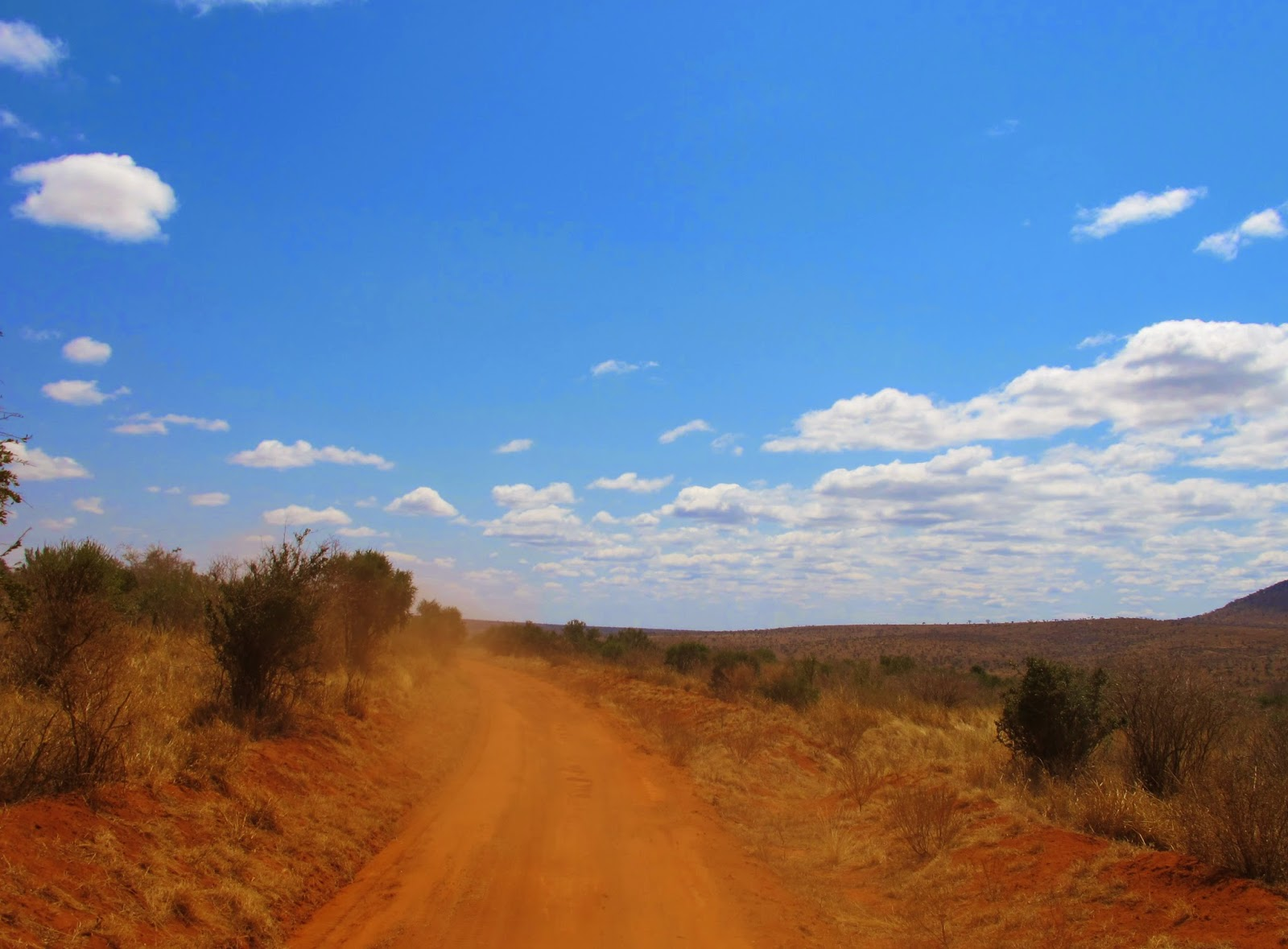 nuvole e cielo Kenya