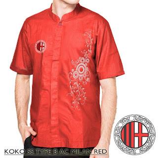 Baju Koko AC Milan