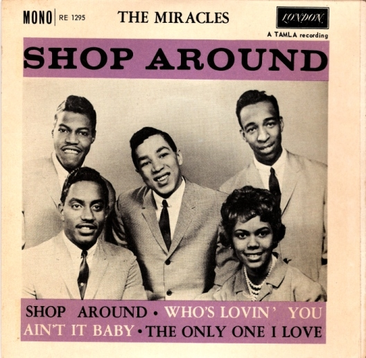 Copertina The Miracles ft Bill Smokey Robinson - Shop Around