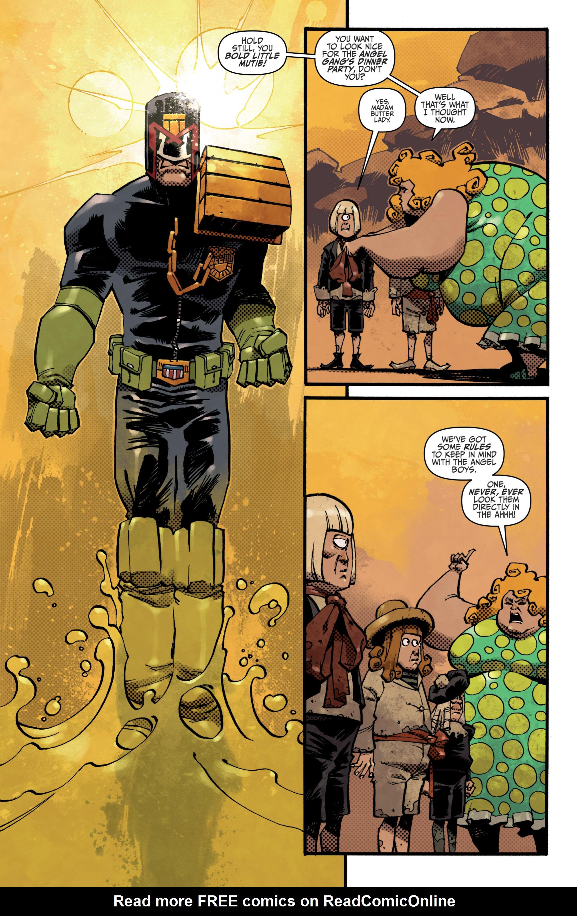 Read online Judge Dredd (2012) comic -  Issue # _TPB 3 - 73