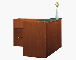 Cherryman Industries Jade Series Reception Desk