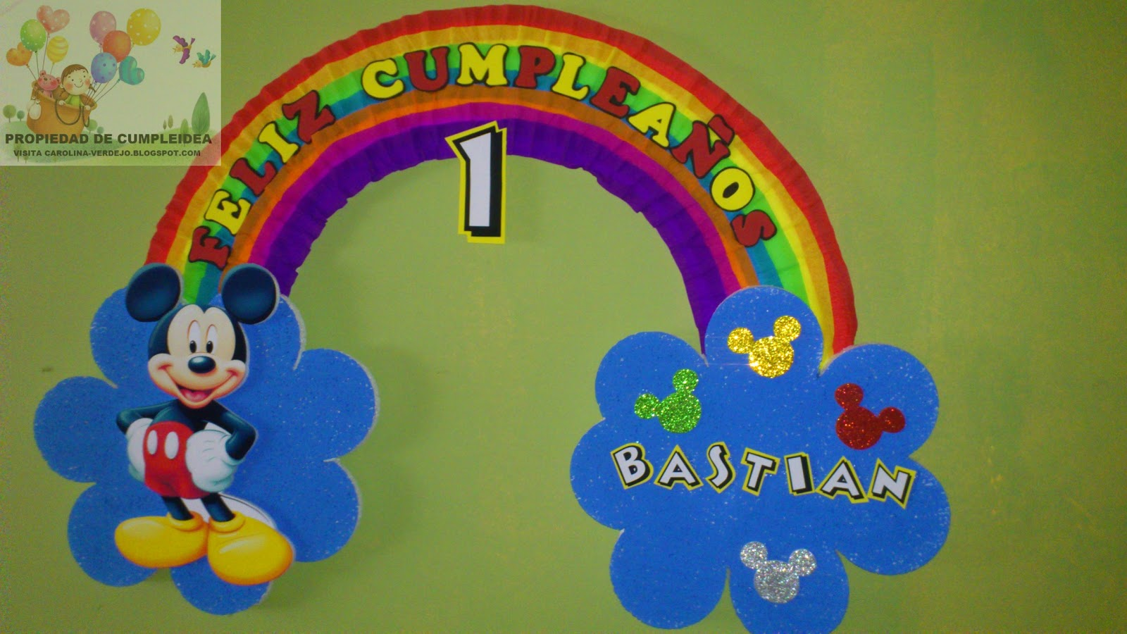 Decoraciones Infantiles Pack Mickey Mouse Ajilbab Portal Wallpaper