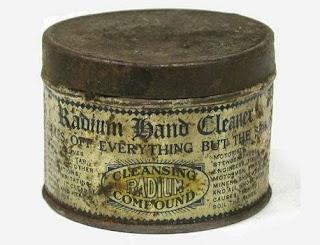 radio limpiador jabón radium
