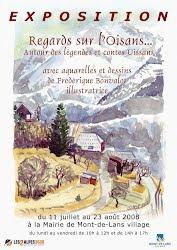 Affiche Exposition en Oisans