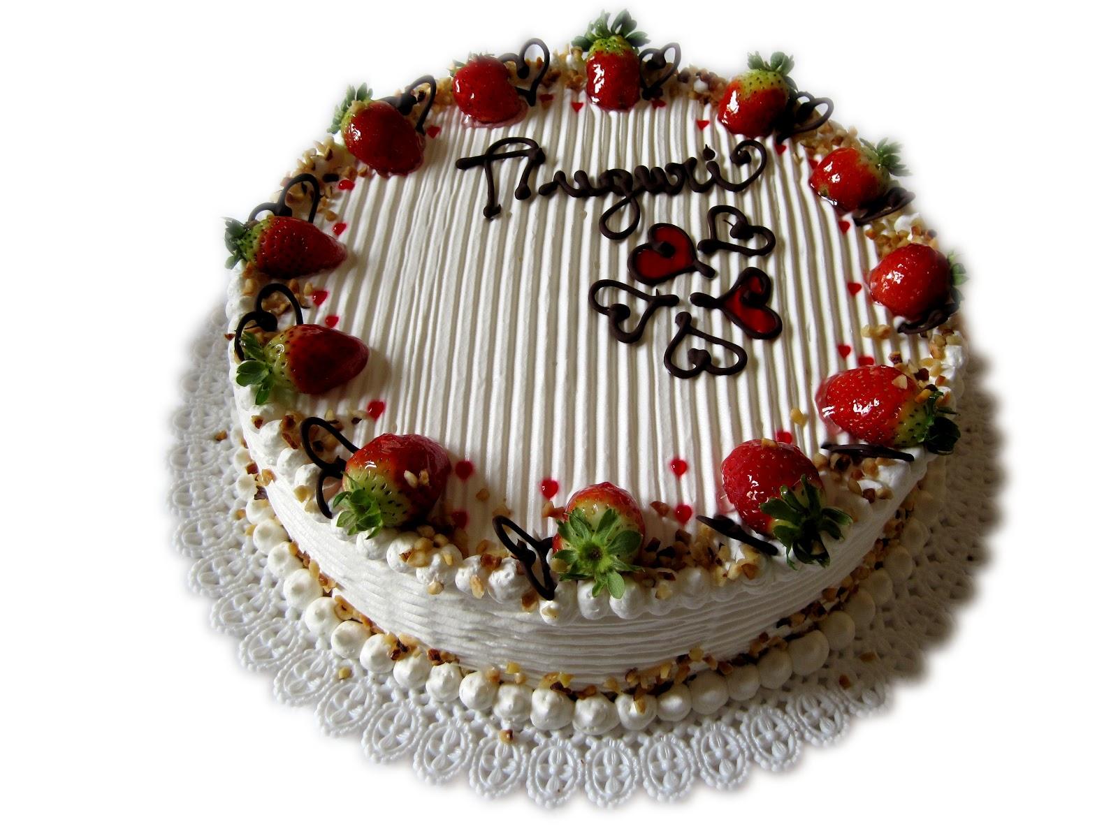 Torte decorate con panna coolsugarcake for Decorazioni torte con fragole e cioccolato