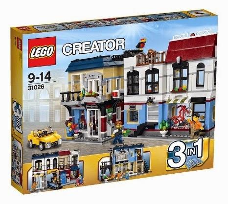 LEGO Creator 31026 Sklep Rowerowy i Kawiarnia - MojeKlocki24.pl