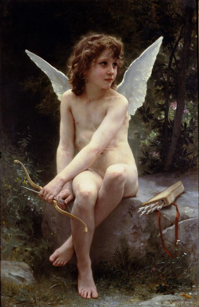 Amour A Laffut. 1880. óleo sobre tela
