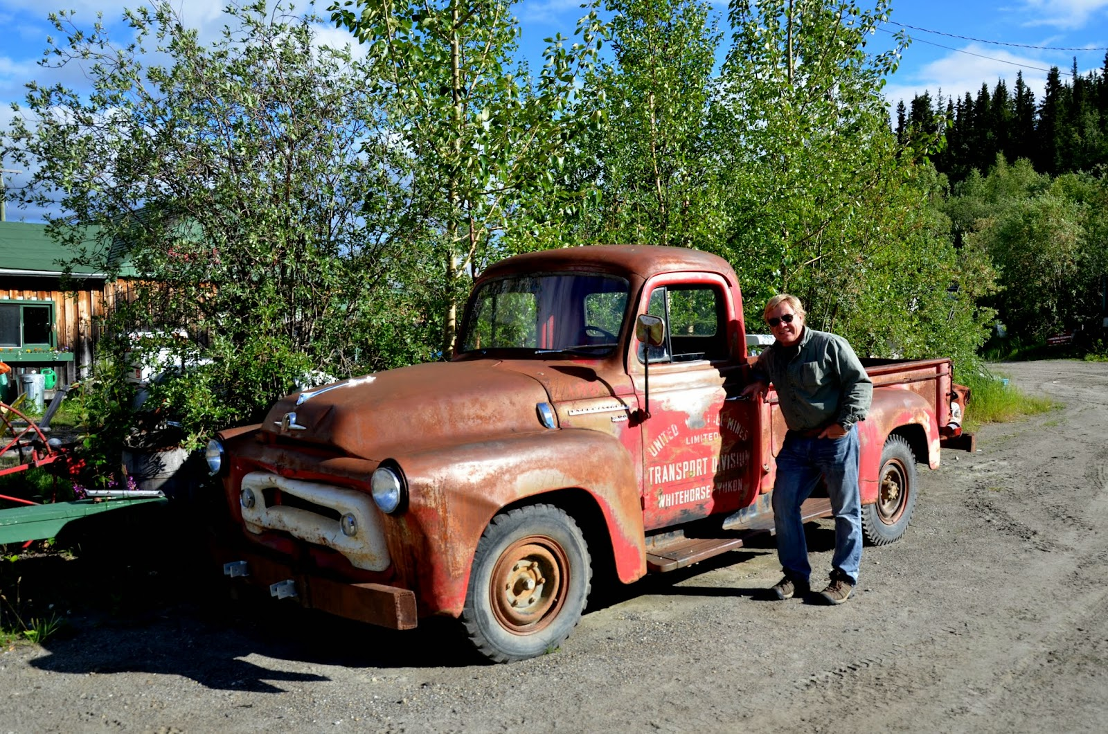 One of many old vehicals