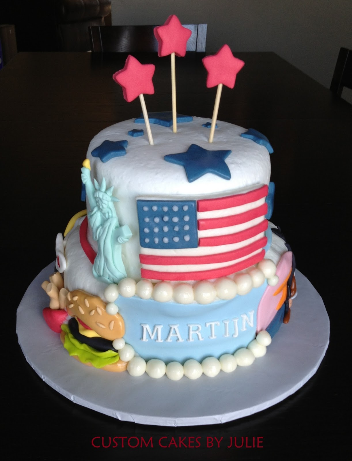 Native American Themed Cake