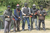 Pertandingan paint ball 2011