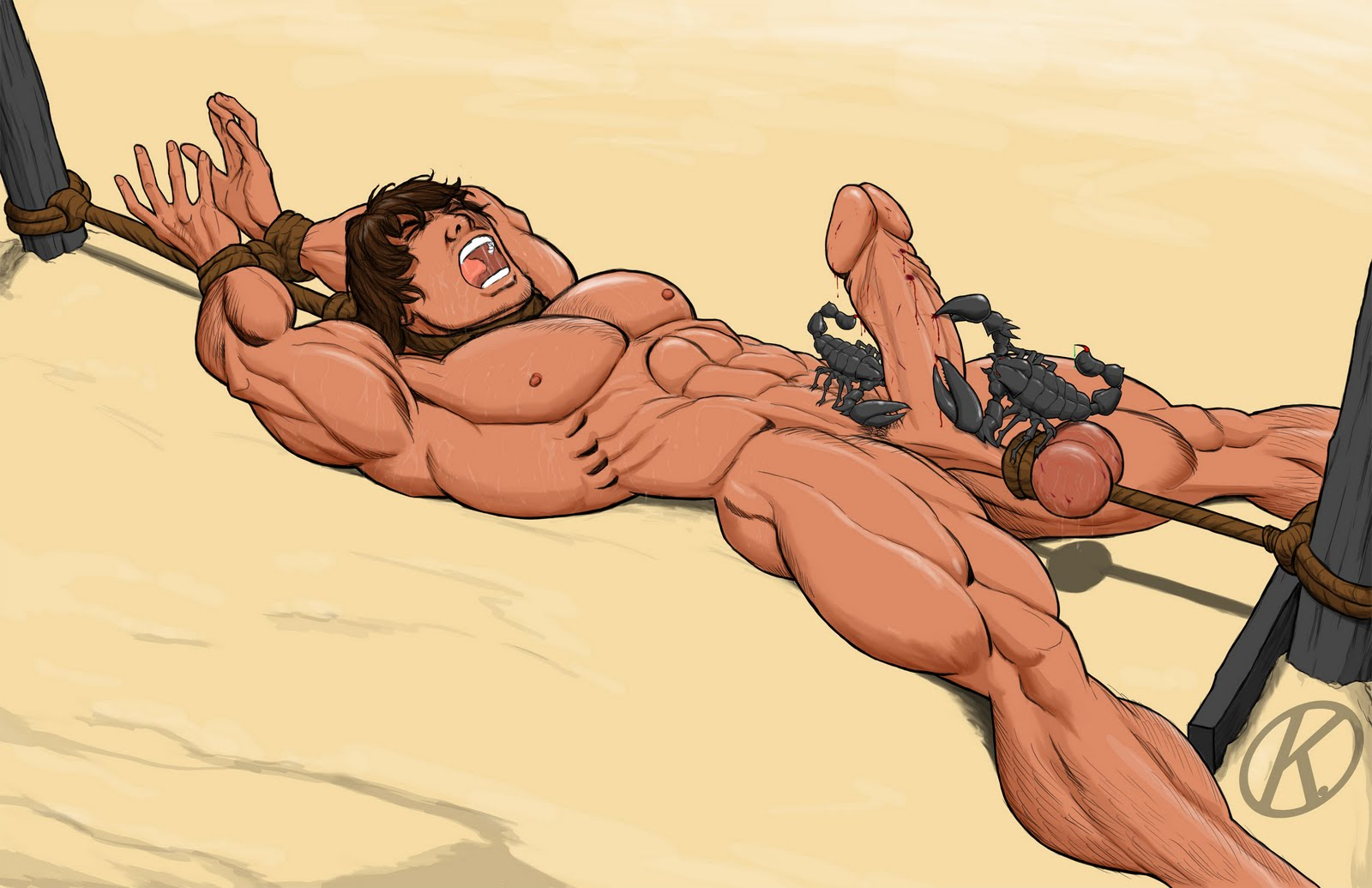 Barbarian gay art sex scenes