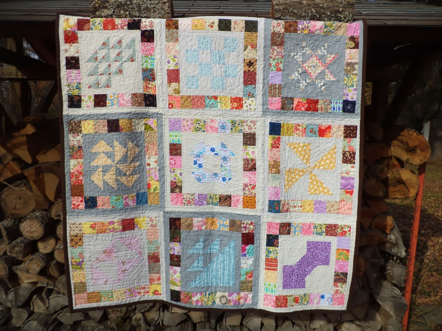 Kat & Cat Quilts: Assembling Your Quilt {Quilt-as-You-Go Simple ... : quilt as you go baby quilt - Adamdwight.com