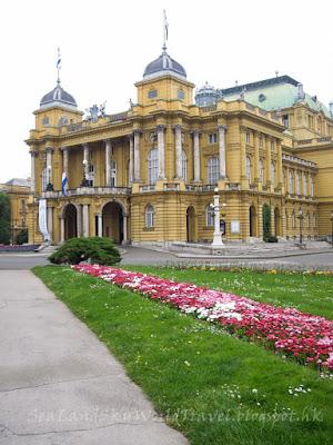 薩格勒布, Zagreb, 國立劇院, Hrvatsko Narodno Kazaliste