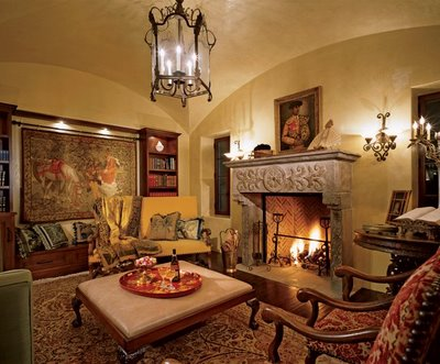 Interior design and decoration colonial home decorating - Decoration style colonial ...