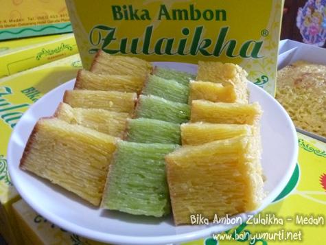 Kuliner Medan - Bika Ambon Zulaikha
