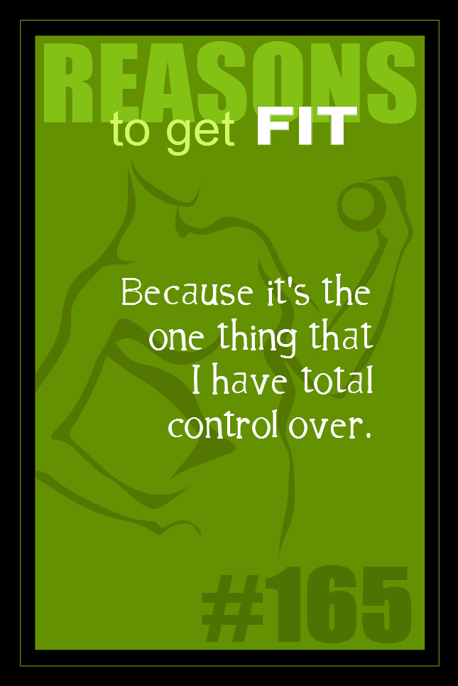 365 Reasons to Get Fit #165