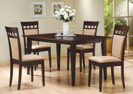 dining room table and chairs set interior decorating idea rustic 7 pc solid wood dining table amp chair set rustic dining sets