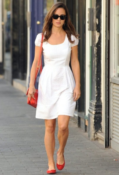 Best shoes to go with white dress