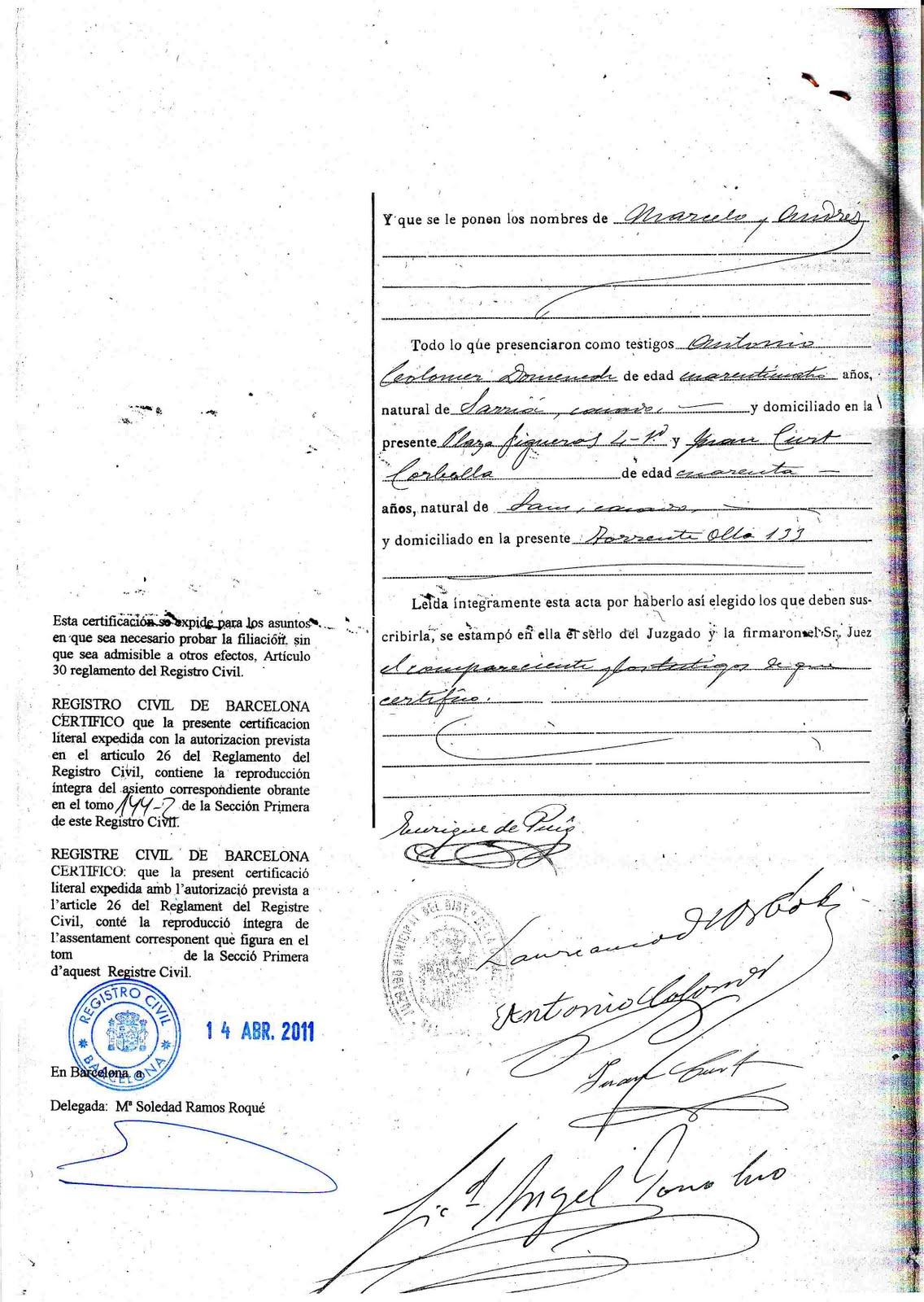 Magnífico Certificado De Nacimiento Kalamazoo MI Regalo - Cómo ...