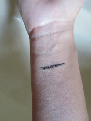 LB Waterproof and Creamy Eyeliner Glam Khaki Swatch