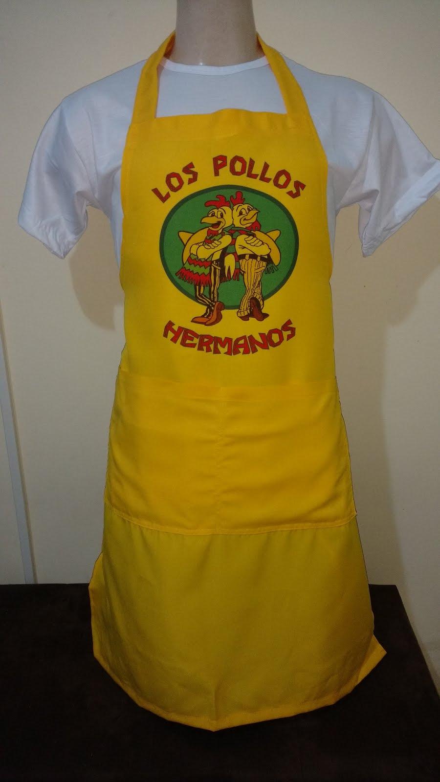 Promoção! Avental Los Pollos Hermanos!