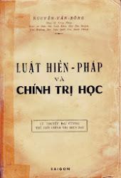 GS Nguyễn văn Bông: Luật Hiến pháp và Chính trị học