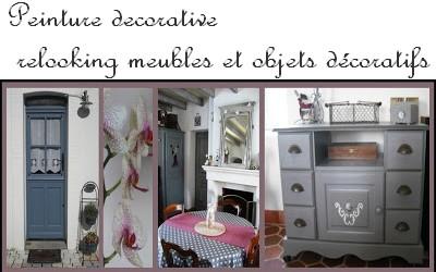 Cours peinture d corative meubles peints patin s lit for Meubles de charme patines