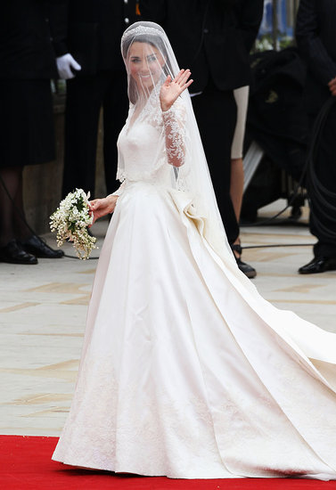 Kate Middletons Wedding Dress Is Alexander McQueen By Sarah Burton