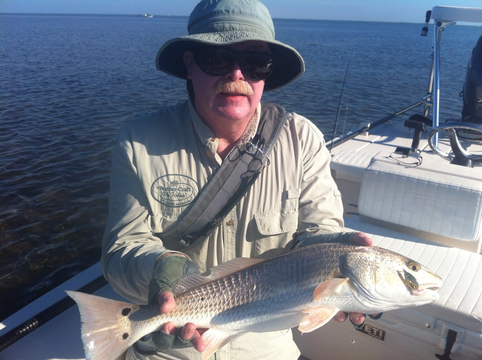 Fort myers and sanibel island fishing charter reports and for Feather craft fly fishing