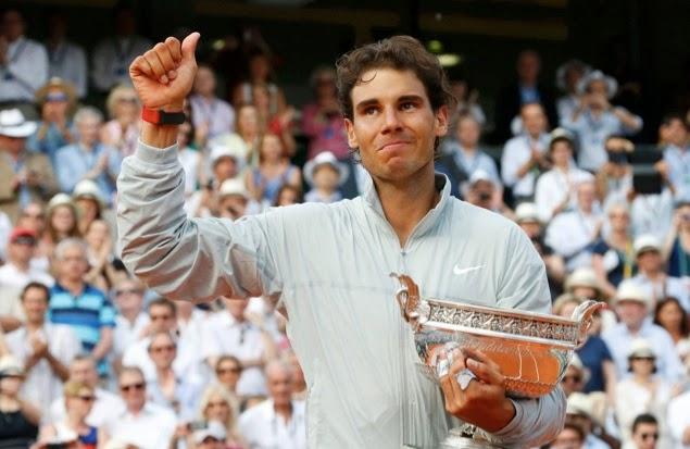 Rafa Nadal consigue su noveno Roland Garros