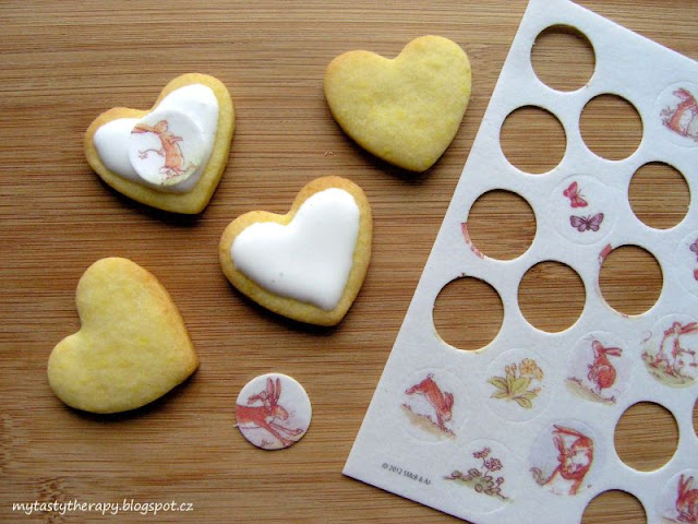 heart cookies from Germany