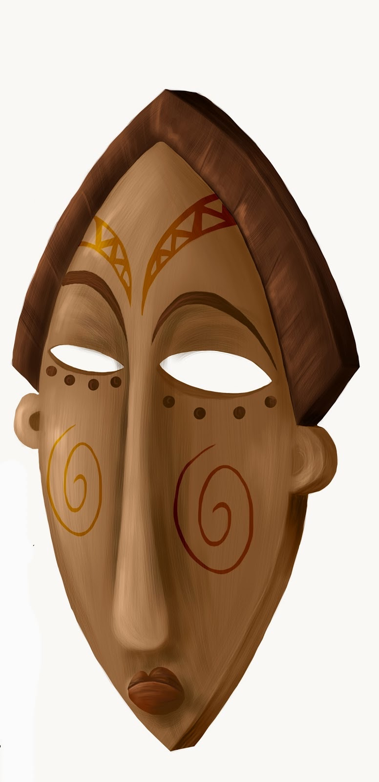 filly funtasia african mask
