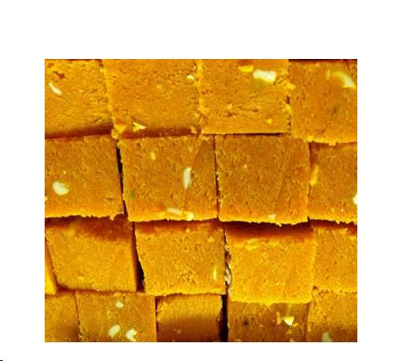 Fast Indian Recipes: Besan ki Barfi (Chickpea Flour Fudge)