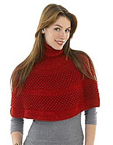 Free Knitted Capelet Patterns : knitnscribble.com: Cape patterns for year round wear