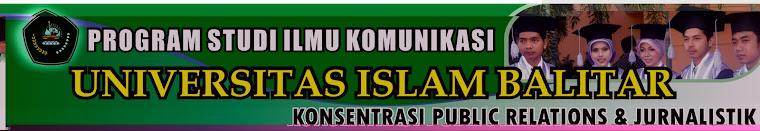 PRODI ILMU KOMUNIKASI UNIVERSITAS ISLAM BALITAR