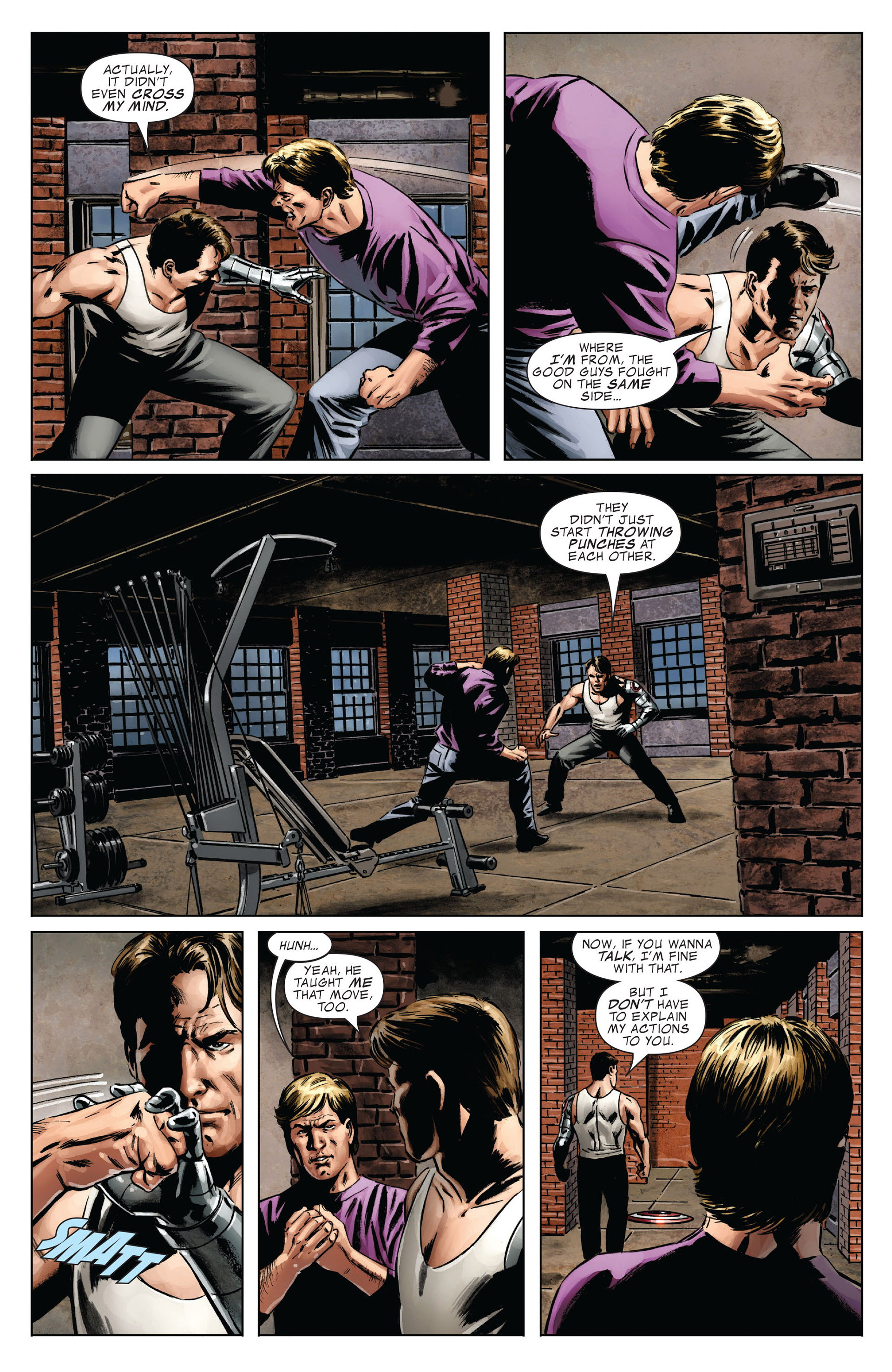 Captain America (2005) Issue #37 #37 - English 13