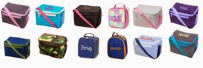 You Name It Baby! Personalized Lunch Bags