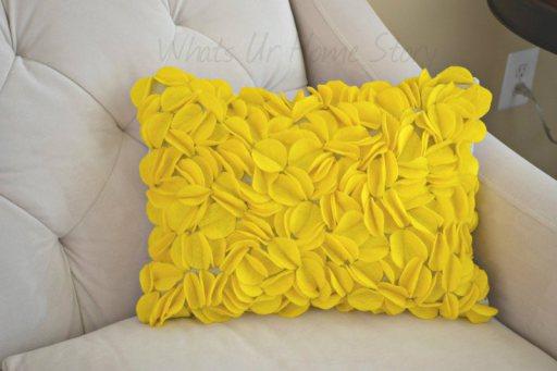 Cartamodello cuscino quadrato