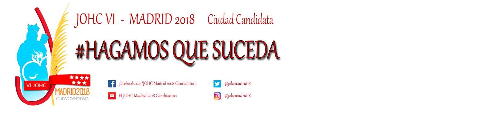 JOHC Madrid 2018 - Candidatura