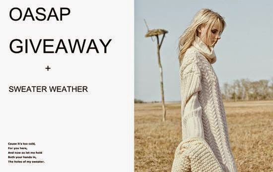 Oasap Sweater Weather Giveaway