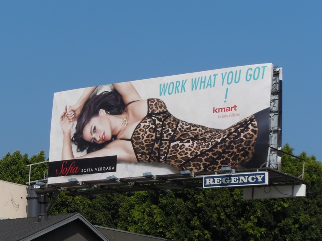 Kmart Sofia fashion billboard