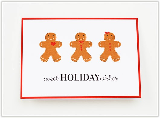 Sweet Holiday Wishes Card by Paper & Party Love