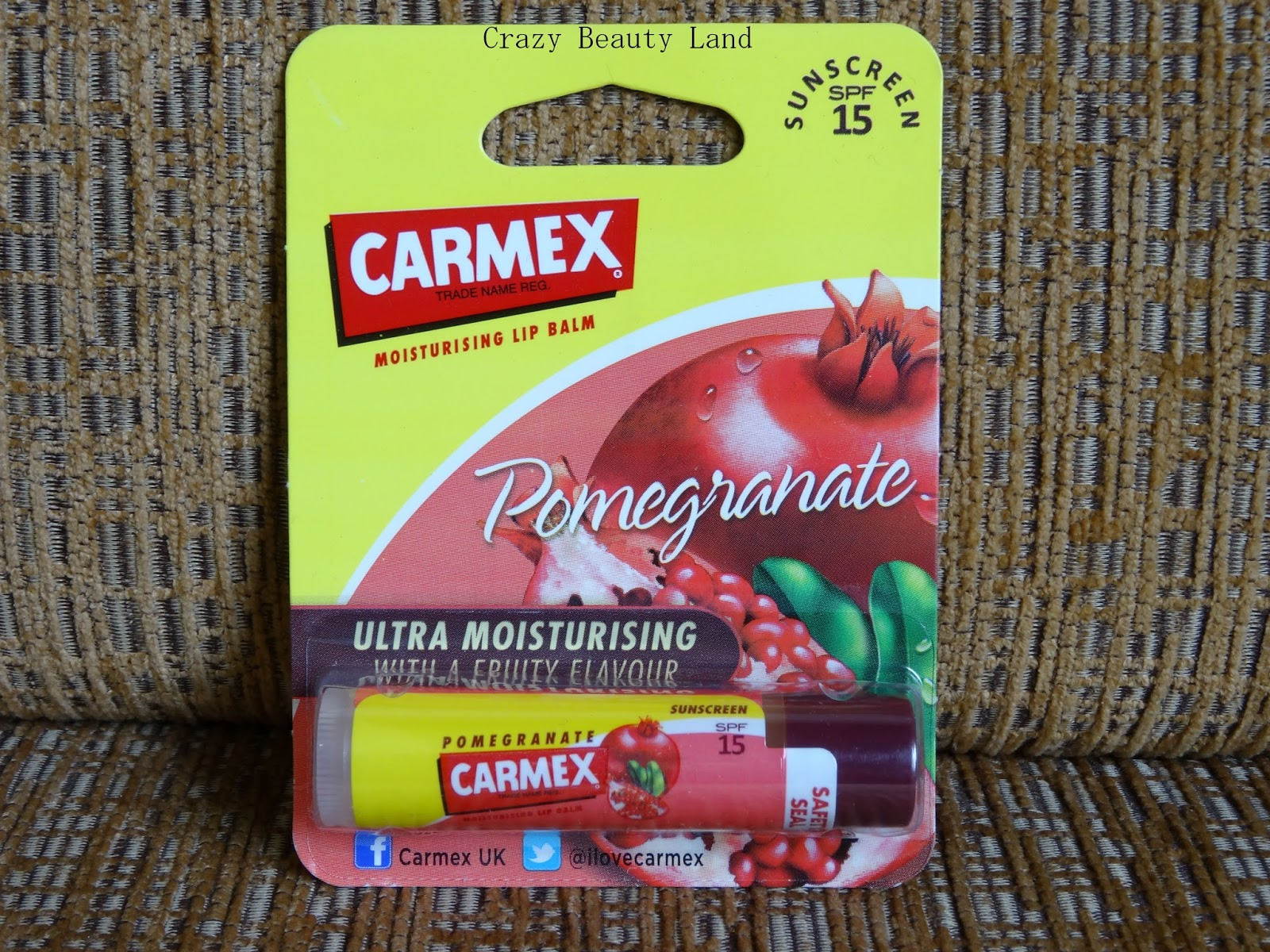Carmex Ultra Hydrating Lip Balm in Pomegranate Review